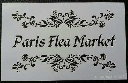 M0027 - Fancy Paris Flea Market Mudd