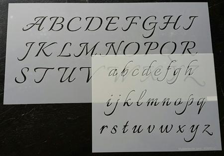 M0040 - Italiano Font Upper/Lower Case Mudd