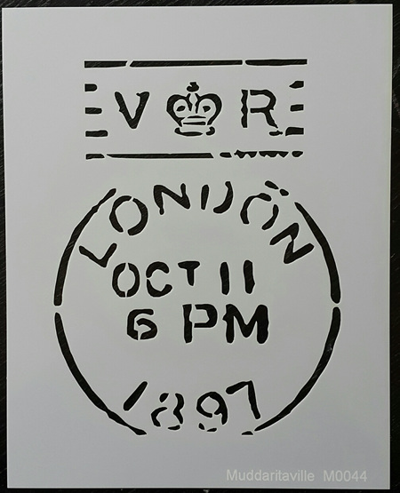 M0044 - London post stamp Mudd
