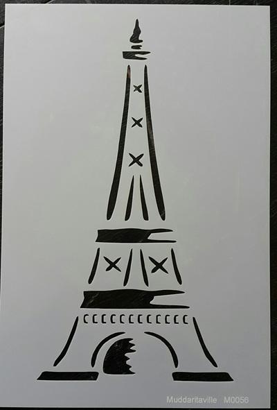 M0056 - Eiffel Tower outline Mudd