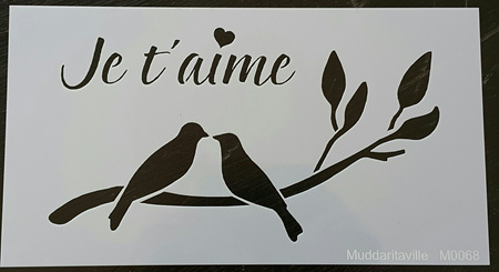 M0068 - Je t'aime  Love Birds Mudd