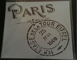 M0071 - Paris Stamp Mudd