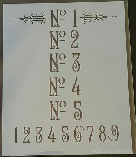 M0081 - Ornate Numbers
