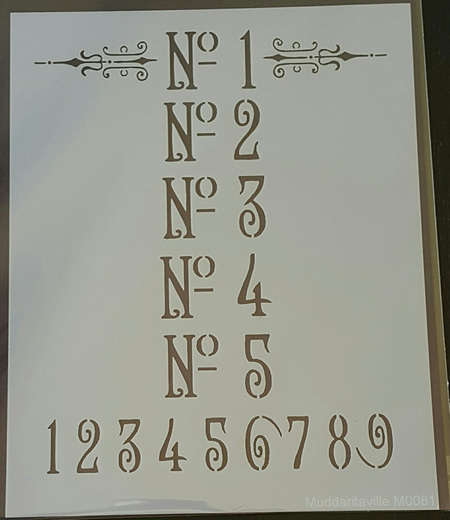M0081 - Ornate Numbers