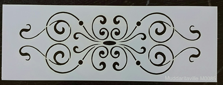 M0085 - Decorative scroll Mudd