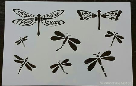 M0100 - Dragonflies Mudd