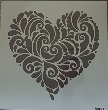M0214 - Decorative Heart Mudd