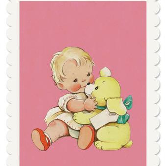 Mabel Lucie Attwell - Baby and Bear