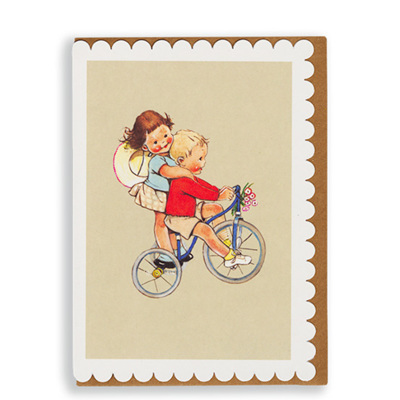 Mabel Lucie Attwell - Tricycle card