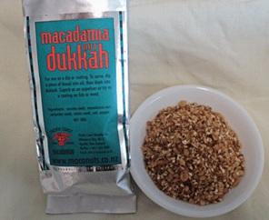 macadamia dukkah Egyptian spices