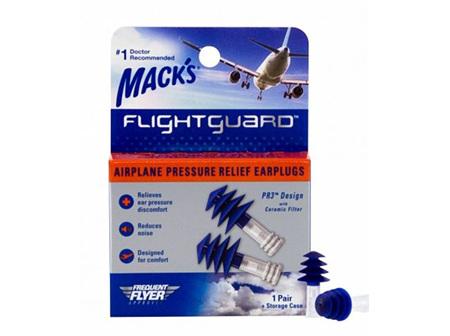 MACKS Flight Guard Ear Plugs 1pair