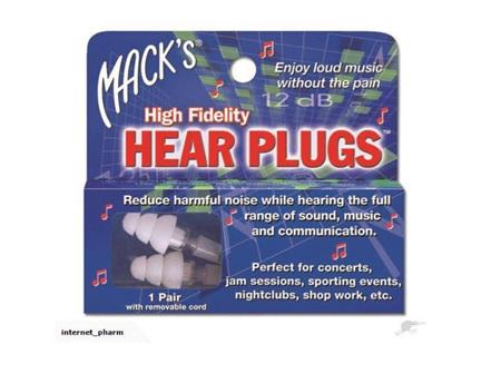 MACKS Hear Plugs
