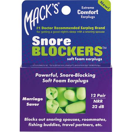 MACKS Snore Blockers 12