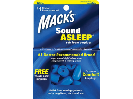 MACKS Sound Asleep Soft Ear Plug 12