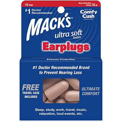 Mack's Ultra Soft Foam Earplugs 10 Pairs
