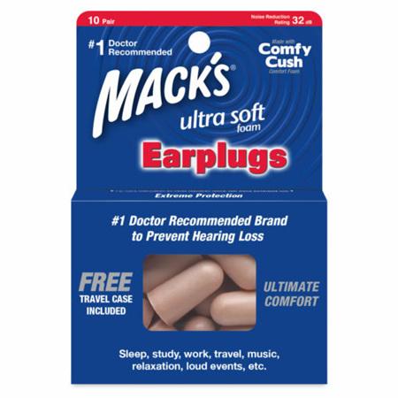 MACKS Ultrasoft Sound Foam Earplugs