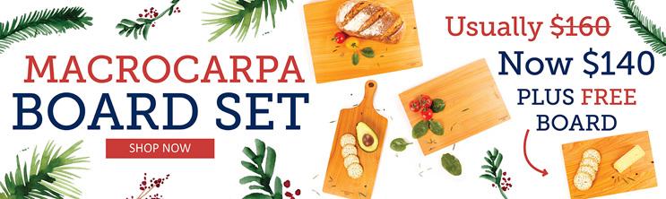 Macrocarpa Board Set