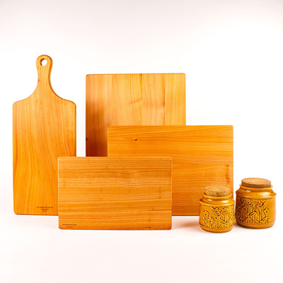 Macrocarpa Board Set with FREE Small Board