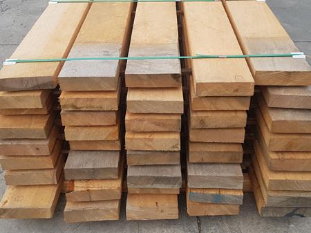 Macrocarpa Green Sawn Clears 203x53mm