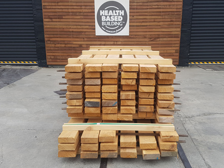 Macrocarpa Green Sawn Clears Pack 136.2m
