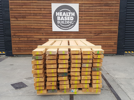 Macrocarpa Green Sawn Dressing Grade Pack 109.3m