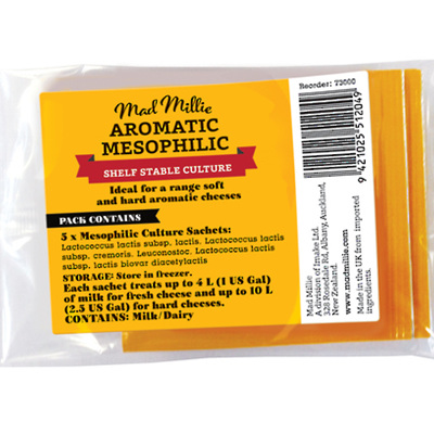 Mad Millie Aromatic Mesophilic Culture (5pk)
