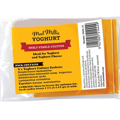 Mad Millie Dairy Free Yoghurt Culture Sachets