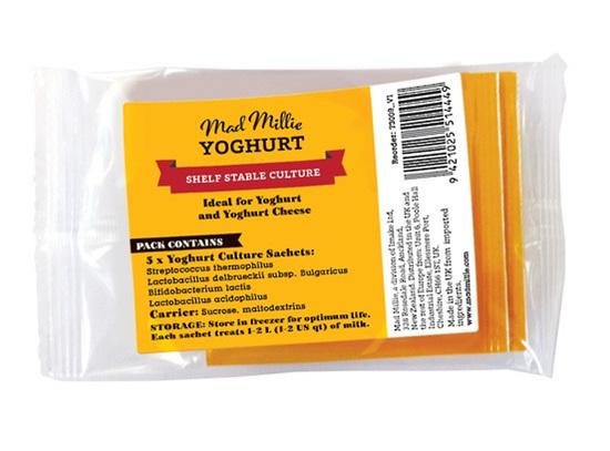 Mad Millie Dairy Free Yoghurt Culture Sachets