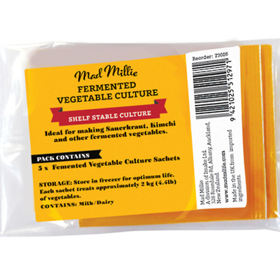 Mad Millie Fermented Vegetable Culture