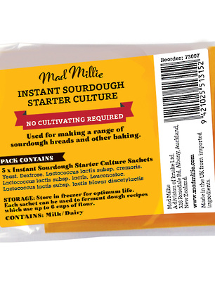 Mad Millie Instant Sourdough Yeast/Culture