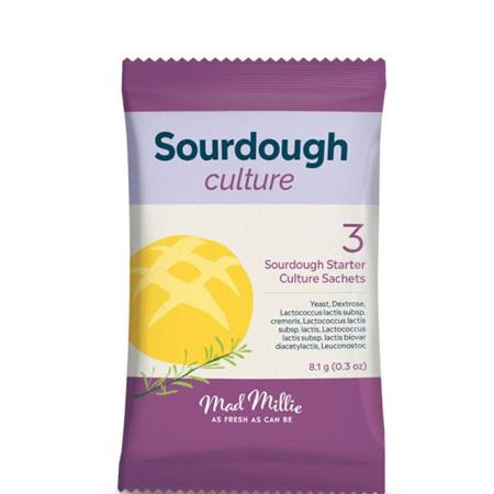 Mad Millie Instant Sourdough Yeast/Culture (3 sachets)