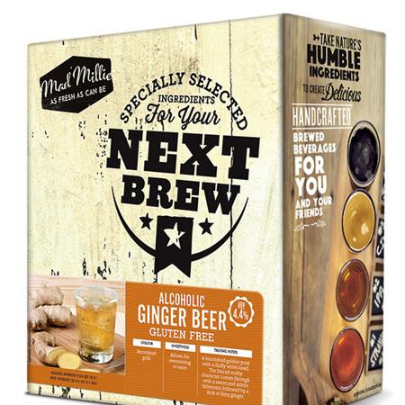 Mad Millie Next Batch Kit Ginger Beer