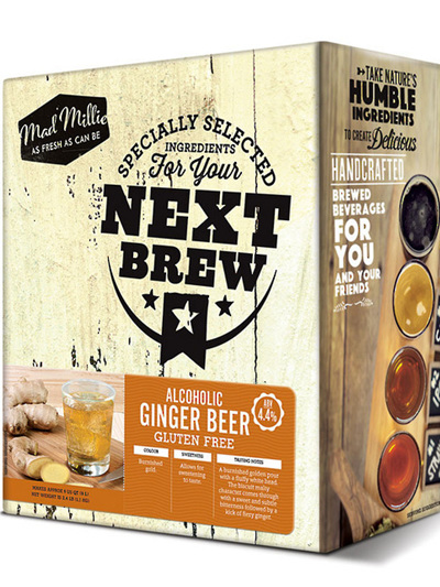 Mad Millie Next Batch Kit Ginger Beer