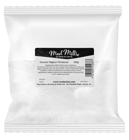 Mad Millie Organic Coconut Yoghurt Thickener 100g