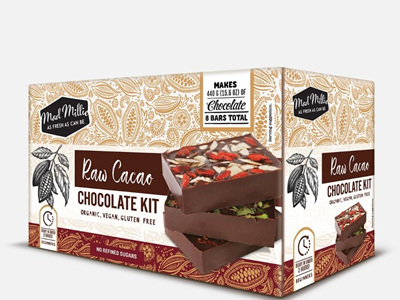 Mad Millie Raw Organic Cacao Choc Kit
