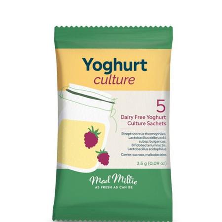 Mad Millie Vegan Yoghurt Culture (5 sachets)