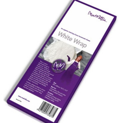 Mad Millie White Wrap 240mm x 240mm 10pk