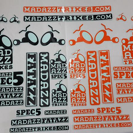 Madazz Sticker pack