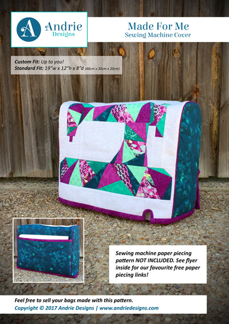 Made for Me Sewing Machine Cover Pattern