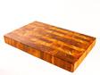 made from heart rimu - end grain board