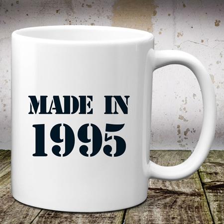 Made in Birth Year Mug