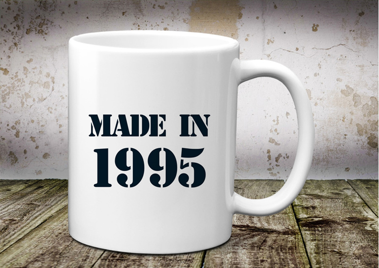 Made in Birth Year Mug