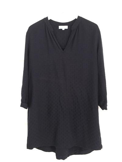 Madelyn Shirt Dress Navy Spot
