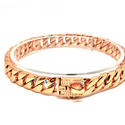 Lil Dog Chains - The Madison Rose Gold