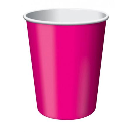 Magenta Cups x 24