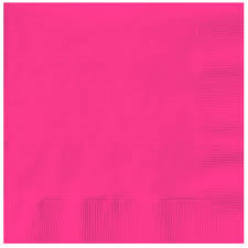 Magenta Lunch Napkins x 20