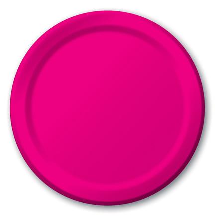 Magenta Lunch Plates x 24 17.1cm