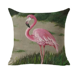 Magestic Flamingo! Cushion Cover