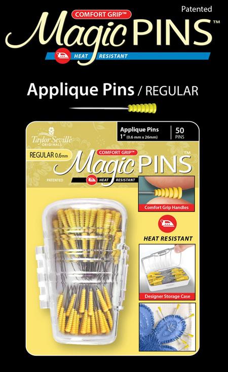 Magic Pins Applique Regular 50 PC