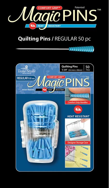 Magic Pins Quilting Regular 50pc